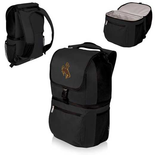 634-00-175-694-0: Wyoming Cowboys - Zuma Cooler Backpack (Black)