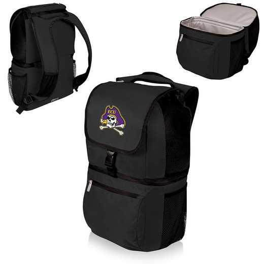 634-00-175-874-0: East Carolina Pirates - Zuma Cooler Backpack (Black)