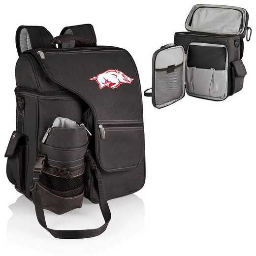641-00-175-034-0: Arkansas Razorbacks - Turismo Cooler Backpack (Black)