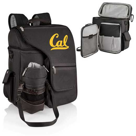 641-00-175-074-0: Cal Bears - Turismo Cooler Backpack (Black)