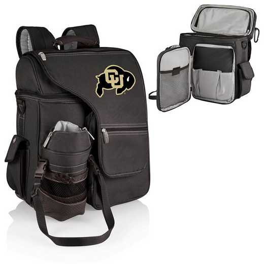 641-00-175-124-0: Colorado Buffaloes - Turismo Cooler Backpack (Black)