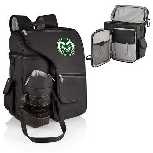 641-00-175-134-0: Colorado State Rams - Turismo Cooler Backpack (Black)