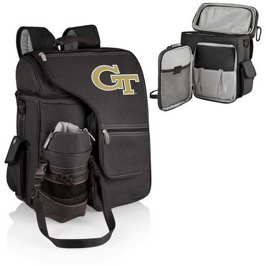 641-00-175-194-0: Georgia Tech Yellow Jackets -Turismo Cooler Backpack (Black)