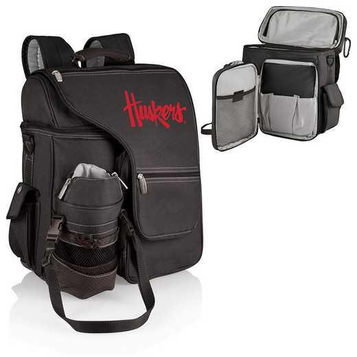 641-00-175-404-0: Nebraska Cornhuskers - Turismo Cooler Backpack (Black)