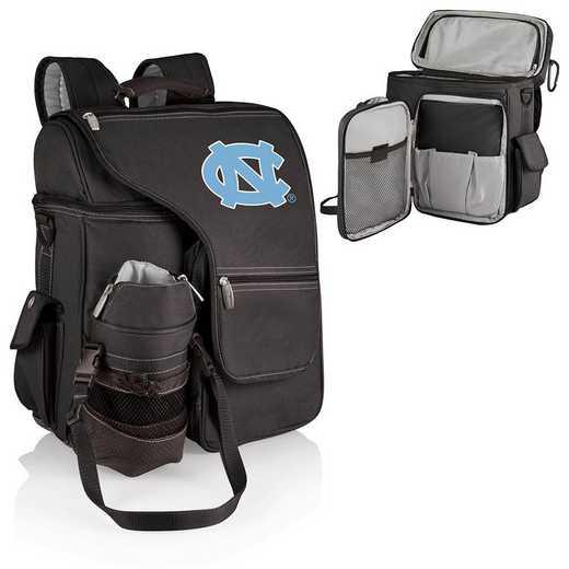 641-00-175-414-0: North Carolina Tar Heels - Turismo Cooler Backpack (Black)