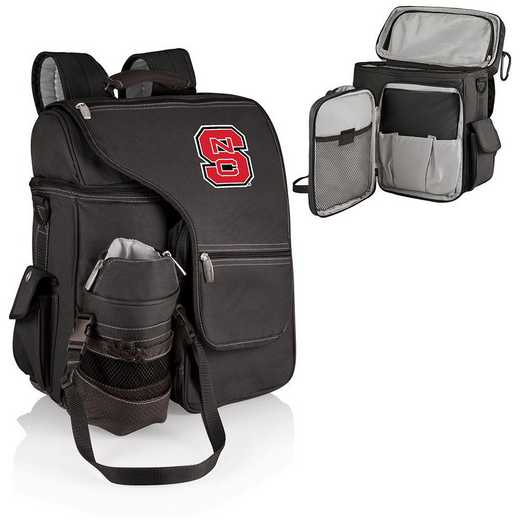 641-00-175-424-0: NC State Wolfpack - Turismo Cooler Backpack (Black)