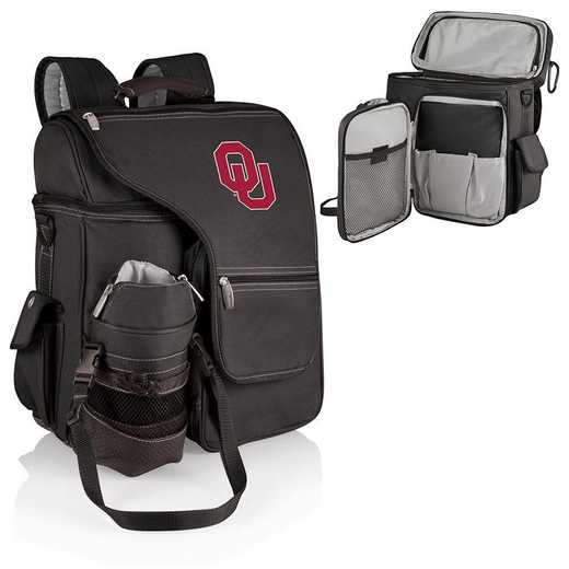 641-00-175-454-0: Oklahoma Sooners - Turismo Cooler Backpack (Black)