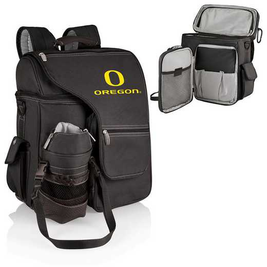 641-00-175-474-0: Oregon Ducks - Turismo Cooler Backpack (Black)