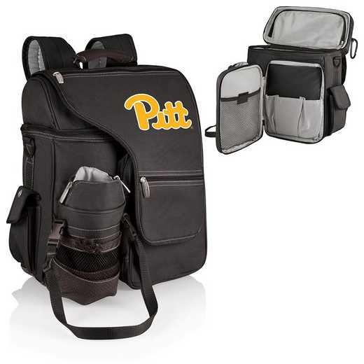 641-00-175-504-0: Pittsburgh Panthers - Turismo Cooler Backpack (Black)