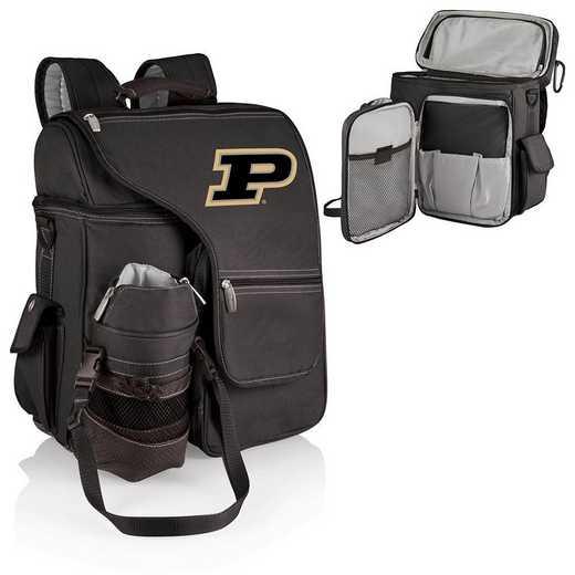 641-00-175-514-0: Purdue Boilermakers - Turismo Cooler Backpack (Black)