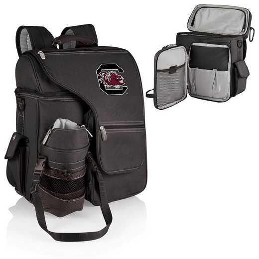641-00-175-524-0: South Carolina Gamecocks - Turismo Cooler Backpack (Black)
