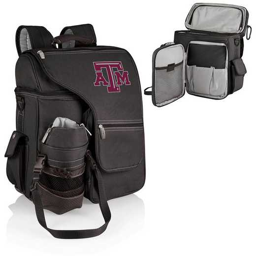 641-00-175-564-0: Texas A&M Aggies - Turismo Cooler Backpack (Black)