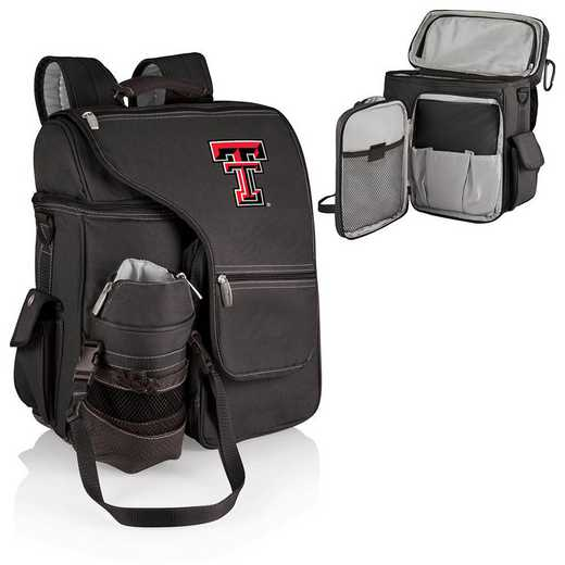 641-00-175-574-0: Texas Tech Red Raiders - Turismo Cooler Backpack (Black)