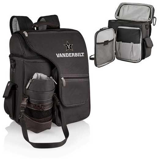 641-00-175-584-0: Vanderbilt Commodores - Turismo Cooler Backpack (Black)