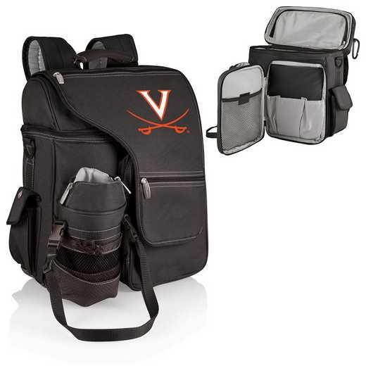 641-00-175-594-0: Virginia Cavaliers - Turismo Cooler Backpack (Black)