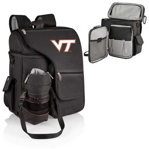 641-00-175-604-0: Virginia Tech Hokies - Turismo Cooler Backpack (Black)