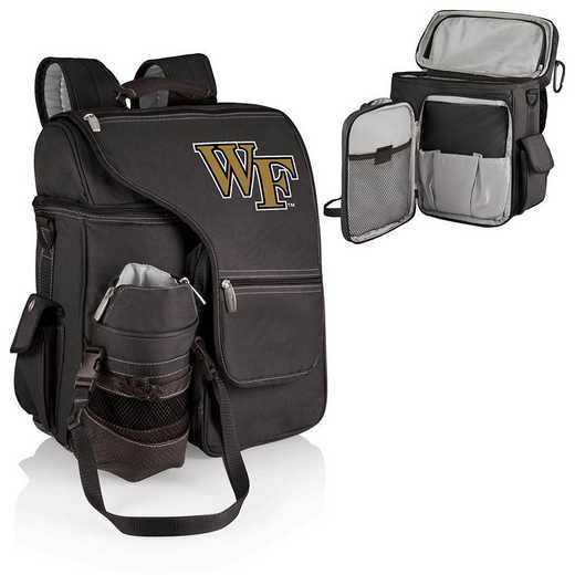 641-00-175-614-0: Wake Forest Demon Deacons - Turismo Cooler Backpack (Black)