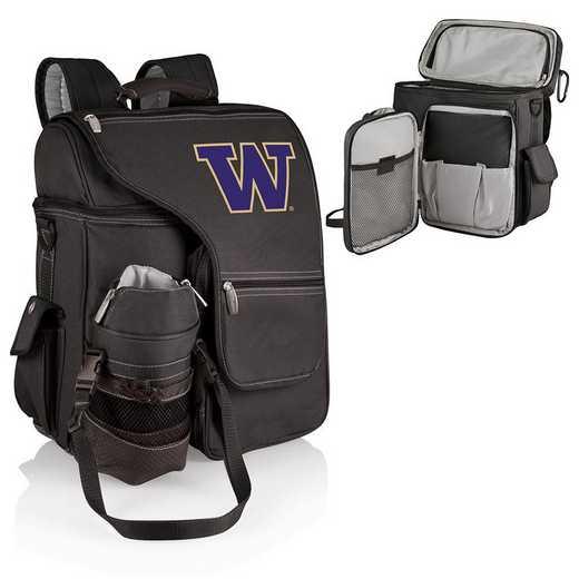 641-00-175-624-0: Washington Huskies - Turismo Cooler Backpack (Black)