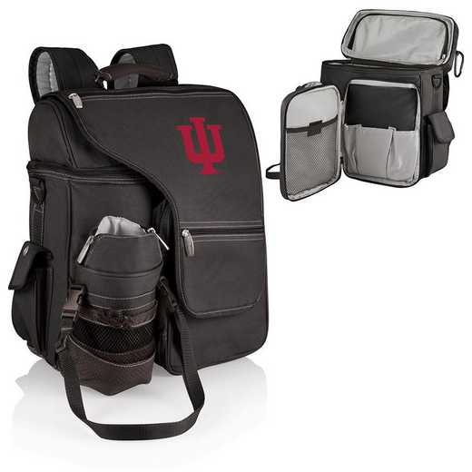 641-00-175-674-0: Indiana Hoosiers - Turismo Cooler Backpack (Black)