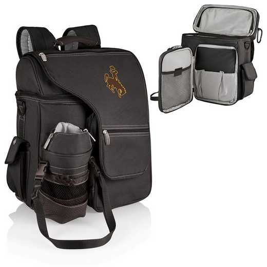 641-00-175-694-0: Wyoming Cowboys - Turismo Cooler Backpack (Black)