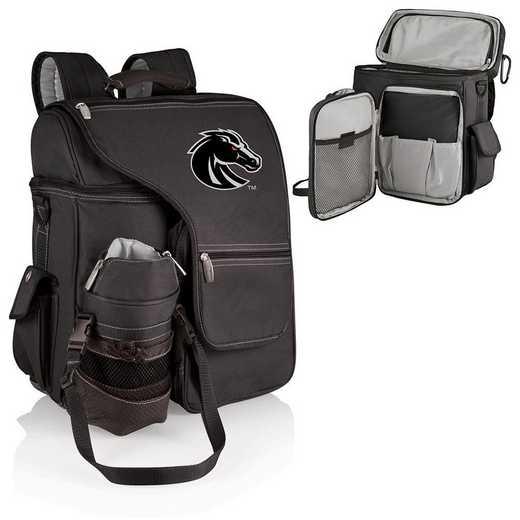 641-00-175-704-0: Boise State Broncos - Turismo Cooler Backpack (Black)