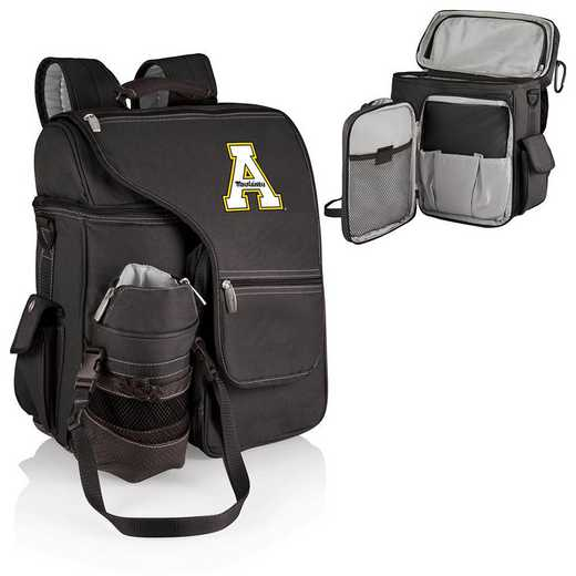 641-00-175-794-0: App State Mountaineers - Turismo Cooler Backpack (Black)