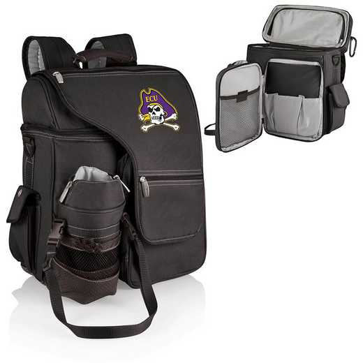 641-00-175-874-0: East Carolina Pirates - Turismo Cooler Backpack (Black)