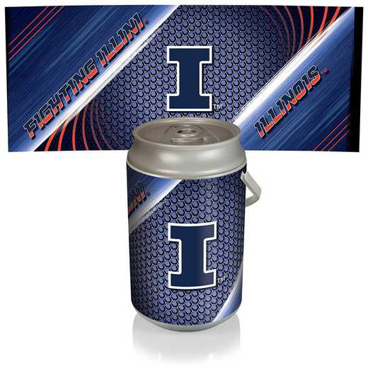 686-00-000-214-0: Illinois Fighting Illini - Mega Can Cooler