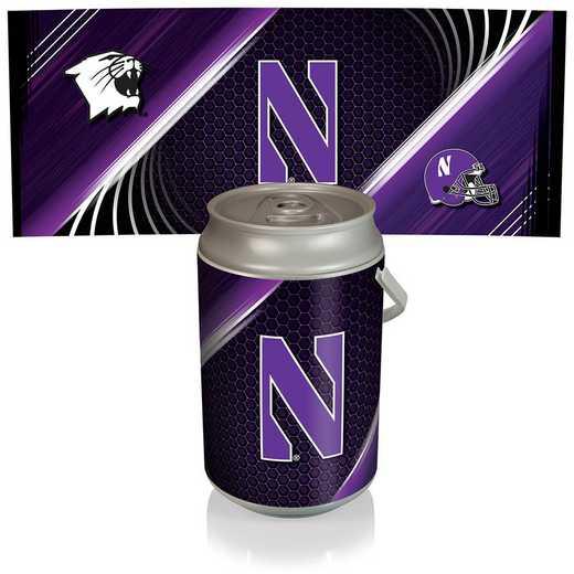 686-00-000-434-0: Northwestern Wildcats - Mega Can Cooler