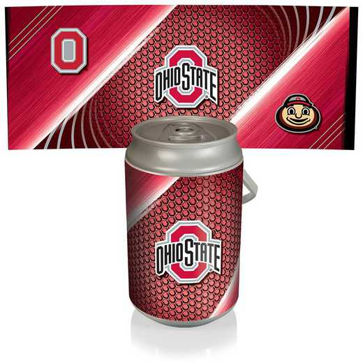 686-00-000-444-0: Ohio State Buckeyes - Mega Can Cooler