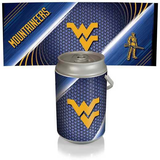 686-00-000-834-0: West Virginia Mountaineers - Mega Can Cooler