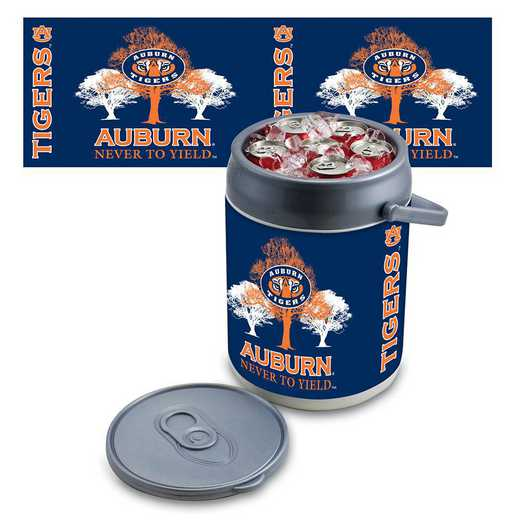 690-00-000-046-0: Auburn Tigers - Can Cooler ('Never To Yield' Design)