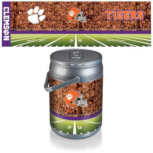 690-00-000-105-0: Clemson Tigers - Can Cooler (Football Design)