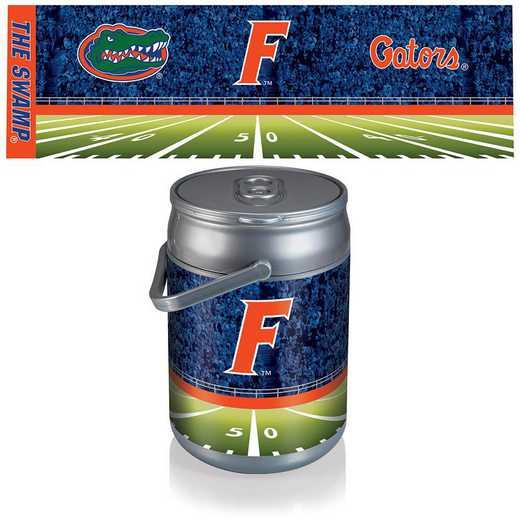 690-00-000-165-0: Florida Gators - Can Cooler (Football Design)