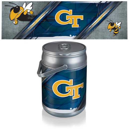 690-00-000-194-0: Georgia Tech Yellow Jackets - Can Cooler