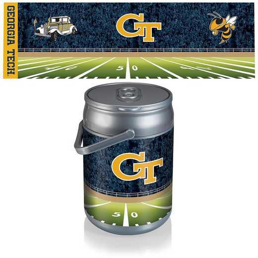690-00-000-195-0: Georgia Tech Yellow Jackets - Can Cooler (Football Design)