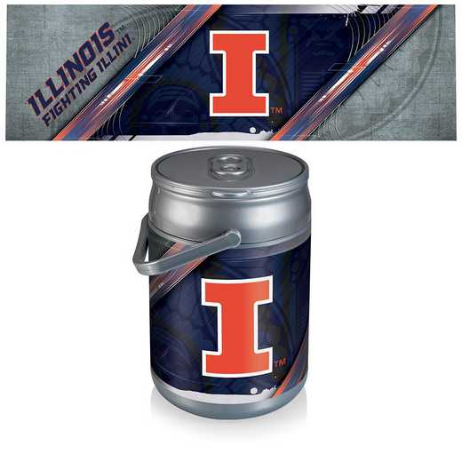 690-00-000-214-0: Illinois Fighting Illini - Can Cooler