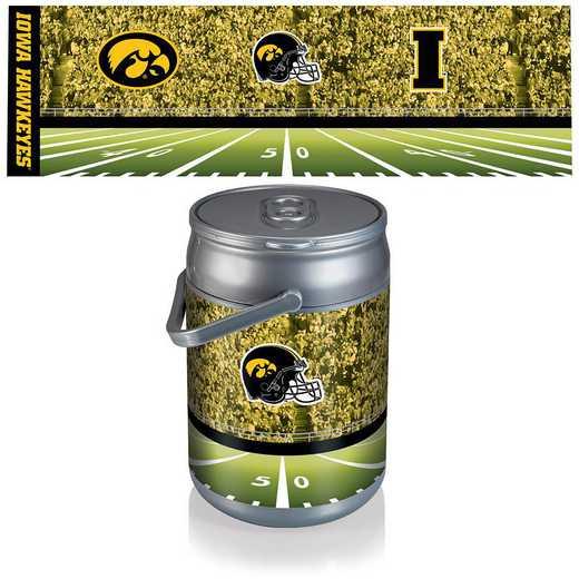 690-00-000-225-0: Iowa Hawkeyes - Can Cooler (Football Design)