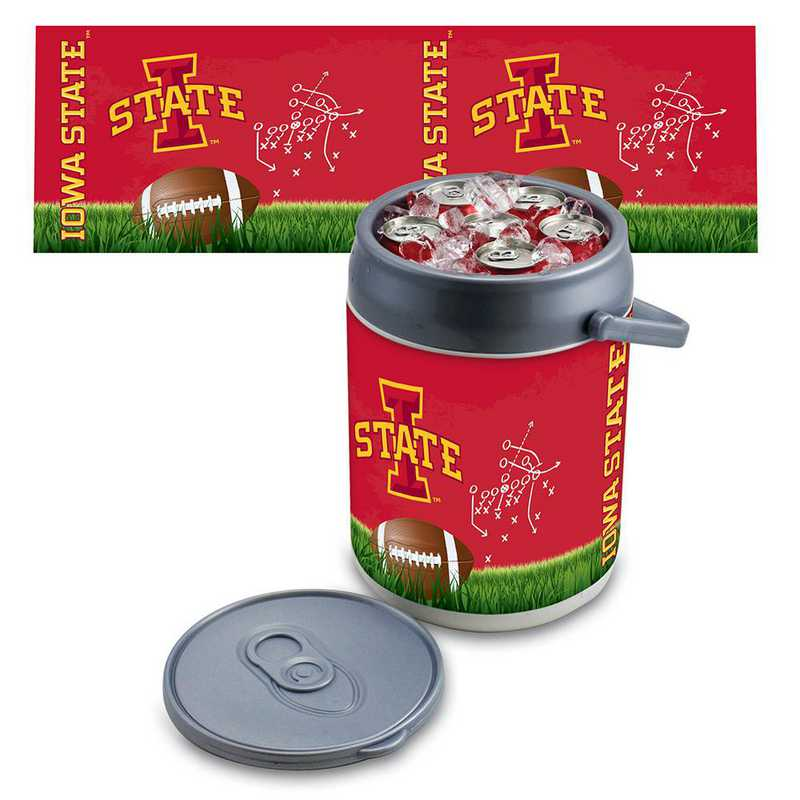 690-00-000-235-0: Iowa State Cyclones - Can Cooler (Football Design)