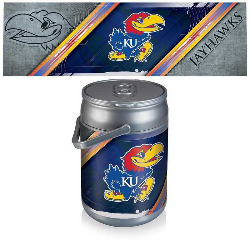 690-00-000-244-0: Kansas Jayhawks - Can Cooler