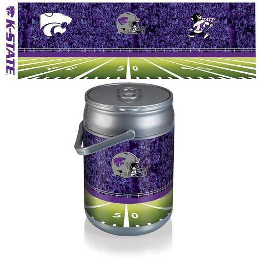 690-00-000-255-0: Kansas State Wildcats - Can Cooler (Football Design)