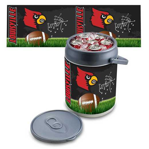 690-00-000-305-0: Louisville Cardinals - Can Cooler (Football Design)