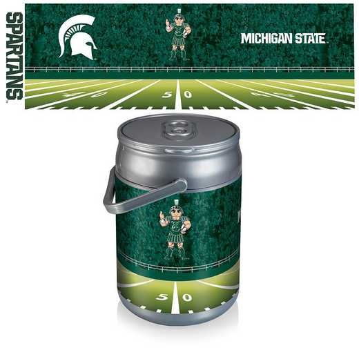 690-00-000-355-0: Michigan State Spartans - Can Cooler (Football Design)