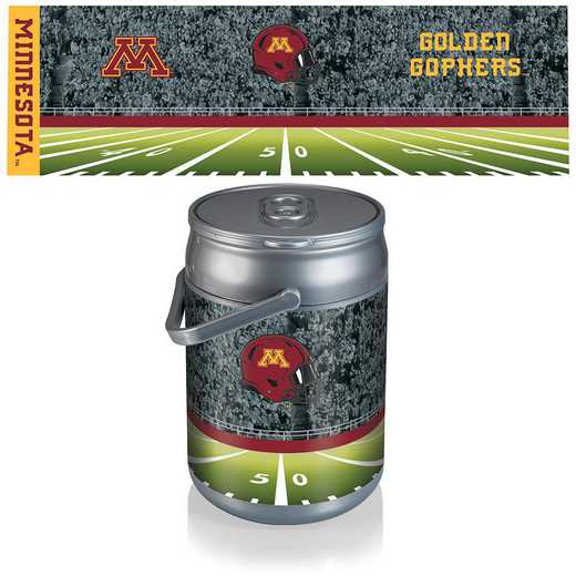 690-00-000-365-0: Minnesota Golden Gophers - Can Cooler (Football Design)