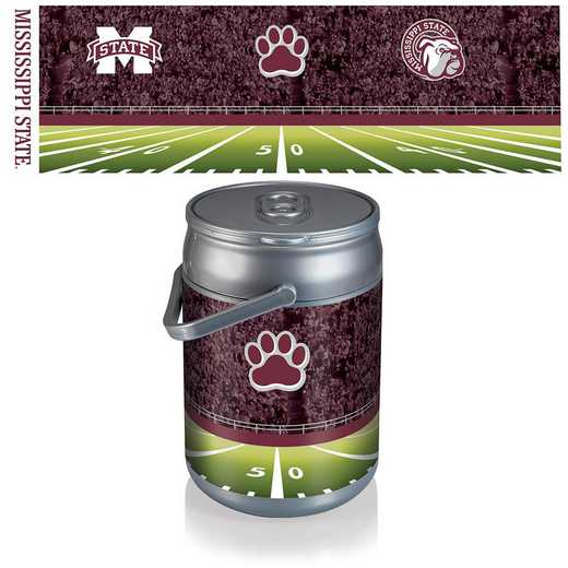 690-00-000-385-0: Mississippi State Bulldogs - Can Cooler (Football Design)