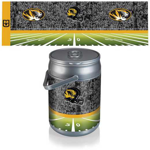 690-00-000-395-0: Mizzou Tigers - Can Cooler (Football Design)