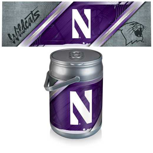 690-00-000-434-0: Northwestern Wildcats - Can Cooler
