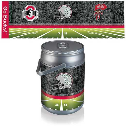 690-00-000-445-0: Ohio State Buckeyes - Can Cooler (Football Design)