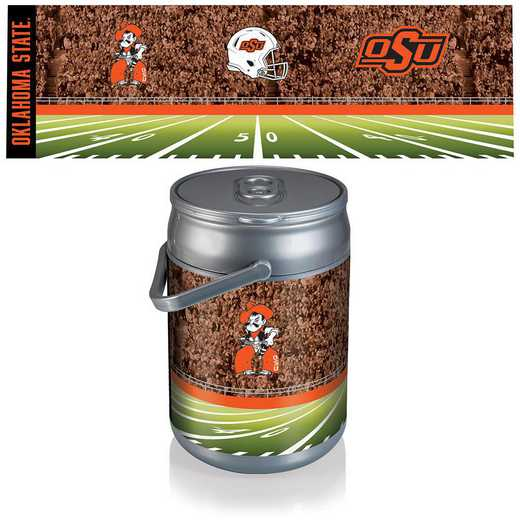 690-00-000-465-0: Oklahoma State Cowboys - Can Cooler (Football Design)