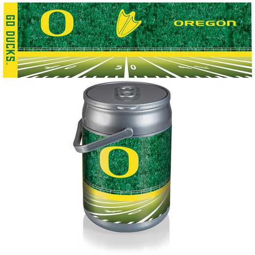 690-00-000-475-0: Oregon Ducks - Can Cooler (Football Design)